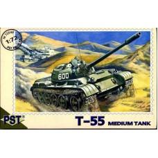 Cредний танк Т-55