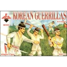Корейские партизаны, XVI-XVII век
