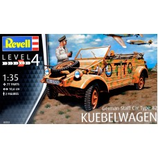 Немецкий штабной автомобиль Type 82 Kubelwagen