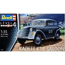 """Немецкий штабной автомобиль """"Kadett K38 Saloon"""""""