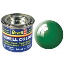 Краска Revell эмалевая, № 61 (изумрудно-зеленая глянцевая)