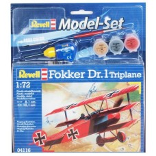 Истребитель Fokker DR.1 Triplane