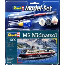 Корабль MS Midnatsol (подарочный набор)