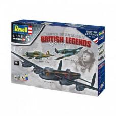 Британские легенды (3 самолета в наборе)