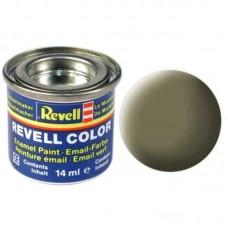Краска Revell эмалевая, № 45 (светло-оливковая матовая)