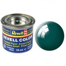 Краска Revell эмалевая, № 62 (буро-зеленая глянцевая)