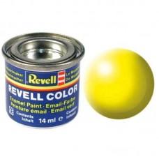 Краска Revell эмалевая, № 312 (светящаяся шелковисто-желтая матовая)
