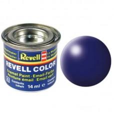 Краска Revell эмалевая, № 350 (синяя-Люфтганза шелковисто-матовая)