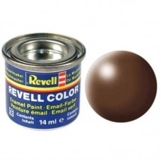Краска Revell эмалевая, № 381 (коричневая шелковисто-матовая)