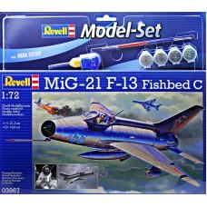 Подарочный набор истребитель МиГ-21 Ф-13 Fishbed C