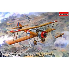 Французский бомбардировщик Sopwith 1.B1