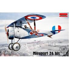 Биплан-истребитель Ньюпорт 24 бис