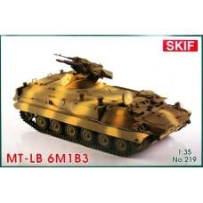 Бронированный тягач МТ-ЛБ 6M1Б3