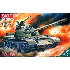 Огнеметный танк ТО-55