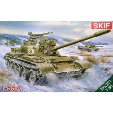 Советский средний танк T-55A