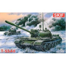 Командирский танк T-55AK
