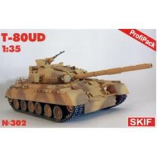 Основной боевой танк T-80УД с фототравлением от Eduard