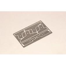 Шпателя для нанесения рисунка Zimmerit на бронетехнику