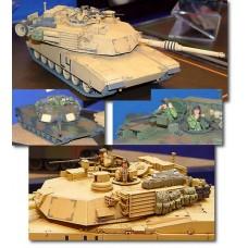 Американский танк M1A2 Abrams OIF