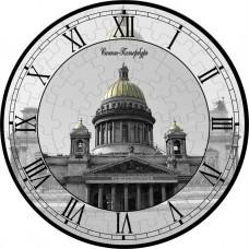 """Пазл-часы """"Исаакиевский собор"""""""