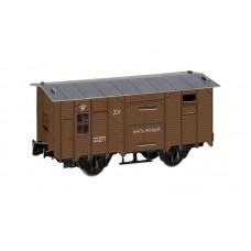 Временно-багажный вагон