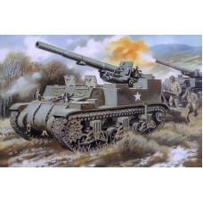"155-мм самоходная пушка М12 ""Кинг Конг"""