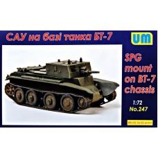 САУ на базе танка БТ-7