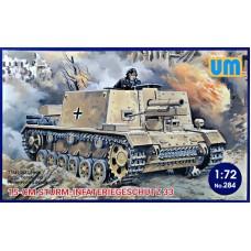 САУ 15-cm Sturm-Infateriegeschutz 33