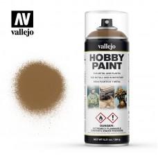 Краска-спрей основа (leather brown), 400 мл
