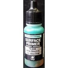 Акрил-полиуретановая грунтовка: U.S. Olive Drab, 17 мл