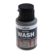 Смывка Model Wash, коричневая - 35 мл