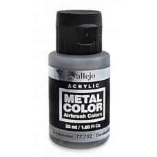 """Краска акриловая """"Metal Color"""" дюралюминий, 32 мл"""