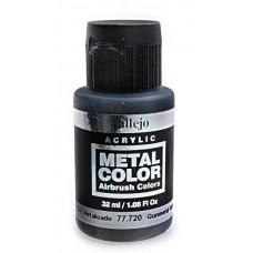 """Краска акриловая """"Metal Color"""" оружейный металл, 32 мл"""